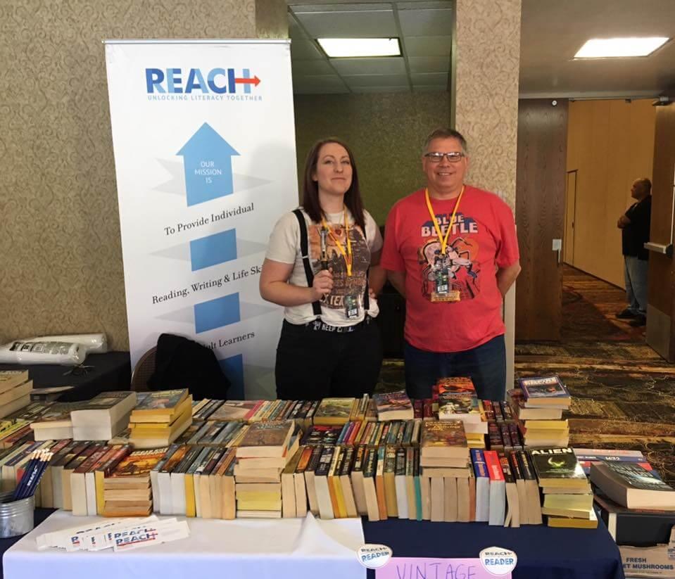 REACH Literacy table