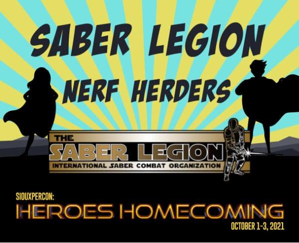 Saber Legion Nerf Herders