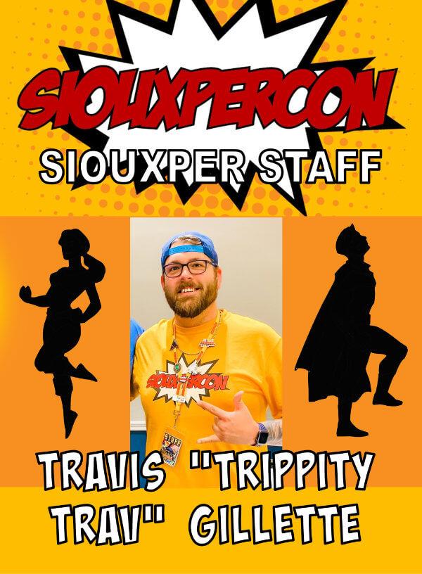 Staff Travis Gillette
