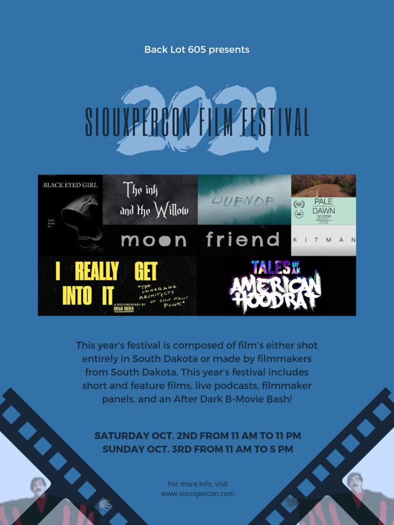 Backlot 605 Film Festival Poster