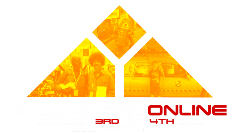 Siouxpercon Online Logo with dates